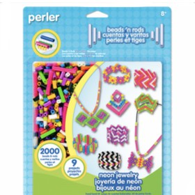 Neon jewelry bead kit