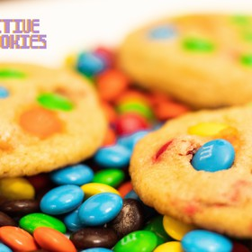 Galletas de M&M's Docena