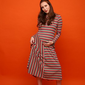 Multicolor stripes dress