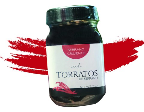 Torratos de serrano 12oz