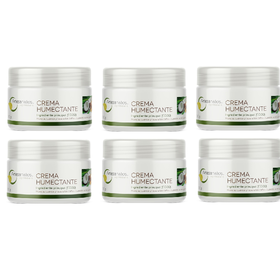 SIX PACK CREMA EXTRA HUMECTANTE COCO 100 GR.