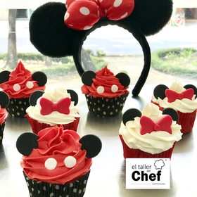 12 Cupcakes Mickey & Minnie