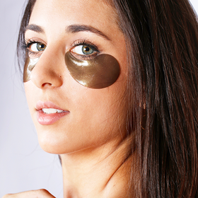 Eye Mask Black Pearl & Gold Hydrogel - Parches para Ojeras - 60 piezas