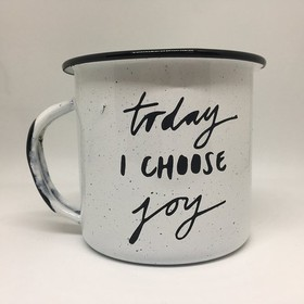 Pocillo 1/4 - Today I choose Joy