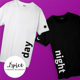 Playera Day & Night