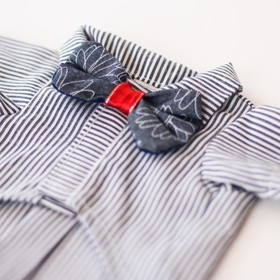 Camisa lines&bow tie