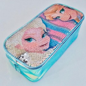 DISNEY FROZEN SEQUIN PENCIL CASE
