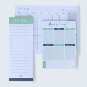 Pack planners color verde