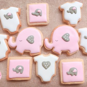 GALLETAS DECORADAS BABY SHOWER / RECUERDITO