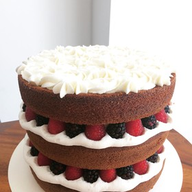 Naked Cake de Berries