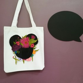 Tote Bag Minnie Flores