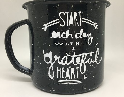 Pocillo 1/4 - Start each day with a grateful heart