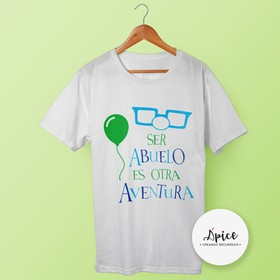 Playera- UP Abuelo
