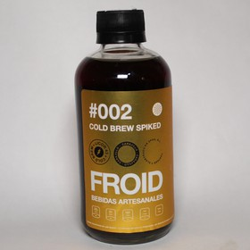 #002 COLD BREW SPIKED (CON LICOR 43®) 295mL