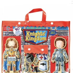 Knights Kingdom Wooden Magnetic Heroes