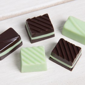 Chocolates menta - Caja mini