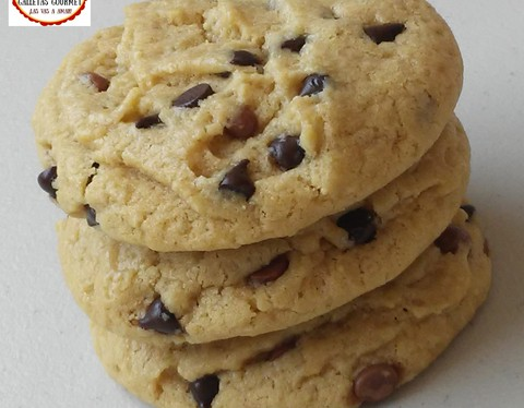 Galletas de vainilla o chocolate chip cookies