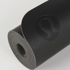 Lululemon yoga mat de 5mm negro