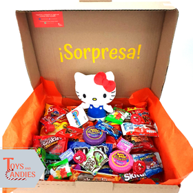 Arreglo de Dulces Candy ToyBox Hello Kitty