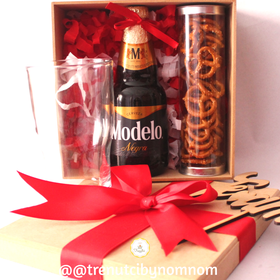 Mini Beer Box| Regalo para él| Celebración