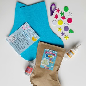 Christmas Boot DIY kit