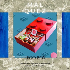 Regalo M. Alquez GiftBox- Lego Box