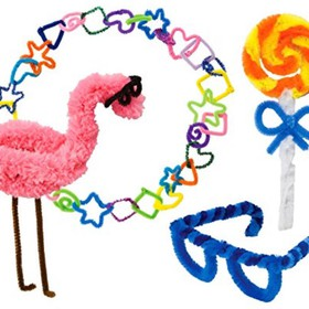 GIANT PIPE CLEANER PARTY by ALEX