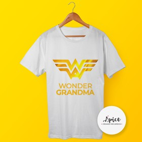 Playera - Wonder Grandma
