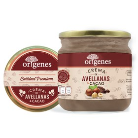 CREMA DE AVELLANA CON CHOCOLATE 320 G