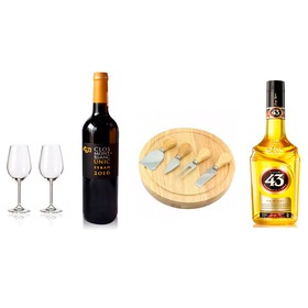 KIT VINO TINTO & LICOR 43