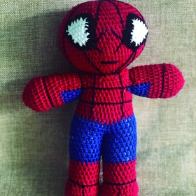 Spiderman Crochet