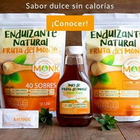 Monk Fruit Miel de Maple o Granulado