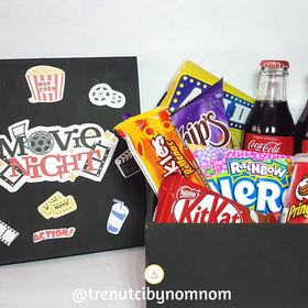 Movienight Box| Regalo| Kit de películas