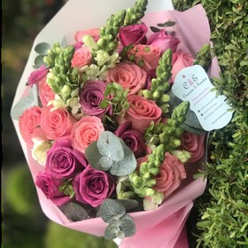 Ramo de Flores Pink Chic and Glam