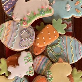 Galletas decoradas de Pascua