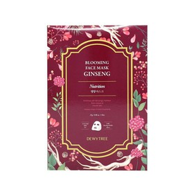 Dewytree Blooming Face Ginseng Mask