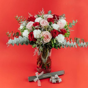 Mix Rosas y Clavel // ME LATE CHOCOLATE