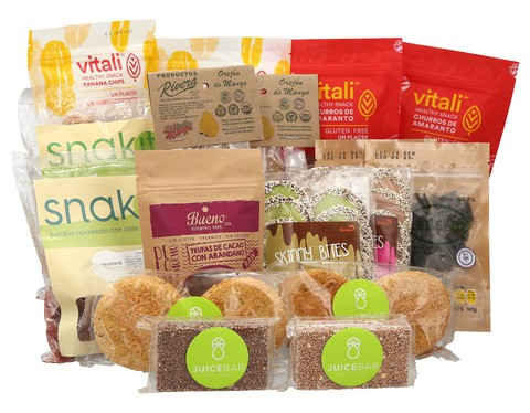 Kit de Snacks Saludables Mediana