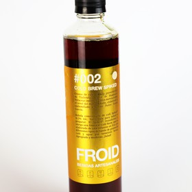 #002 COLD BREW SPIKED (CON LICOR 43®) 375mL