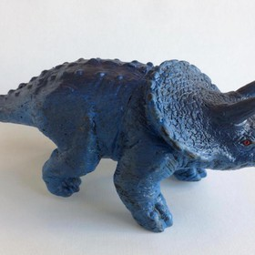 TRICERATOPS small blue