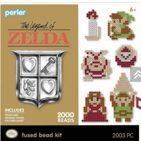 Perler® » Super Mario Bros® »  Perler Legend of Zelda Activity Kit