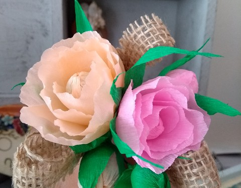 Boutonniere hecho a mano