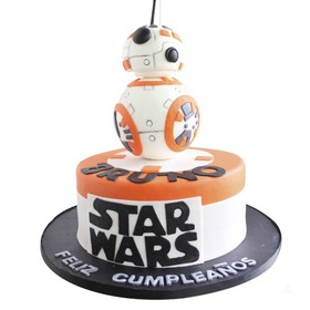 BB-8 Party Cake Pastel de Star Wars