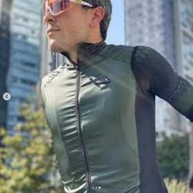 GREEN CYCLING VEST