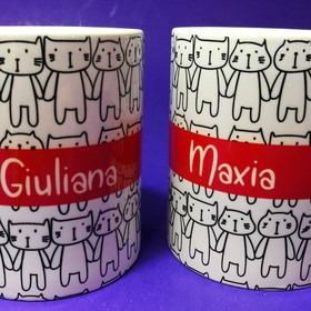 Taza  Kitties Personalizada