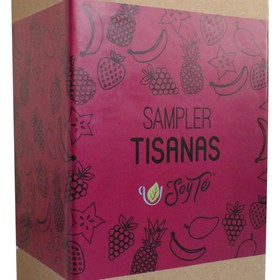 Tea Box - Sampler - Tisanas Frutales 500 Gr