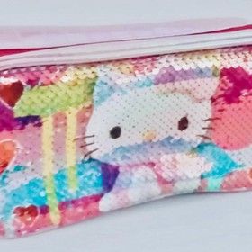 HELLO KITTY SEQUIN PENCIL CASE