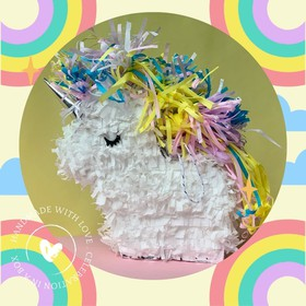 Mini Piñata de Unicornio