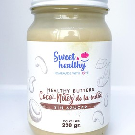 Healthy Butter Coco con nuez de la india