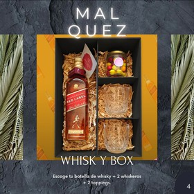 Regalo M. Alquez GiftBox- Whisky Box